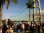 Jembatan Mahakam TENGGARONG-SAMARINDA runtuh (8)